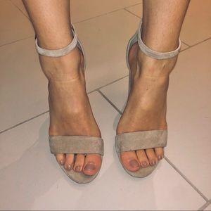 San Edelmann Sandal Block Heels
